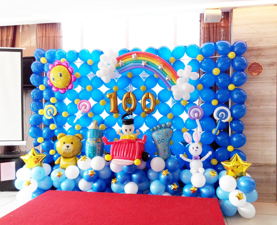 按产品类型分 气球装饰 气球气氛布置  洋湖湿地公园音乐节气球气氛