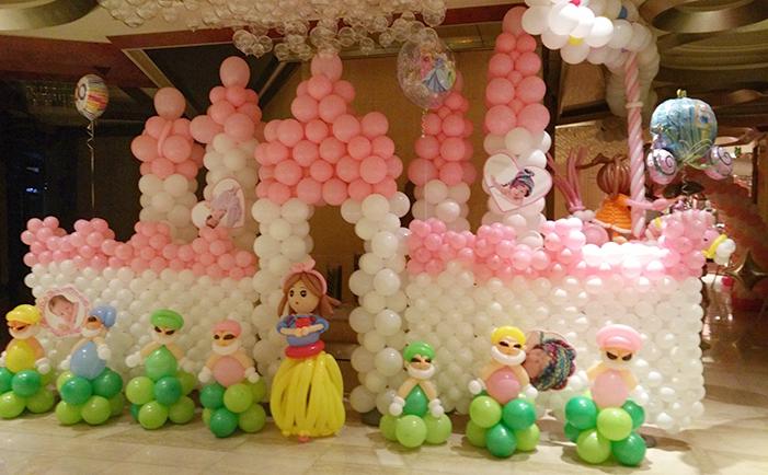 宝宝宴特色主题布置